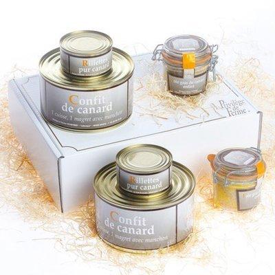 A - Coffret Canard cuisiné 6 boîtes