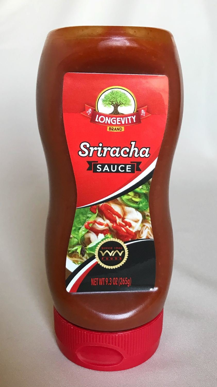 Longevity Sriracha Sauce