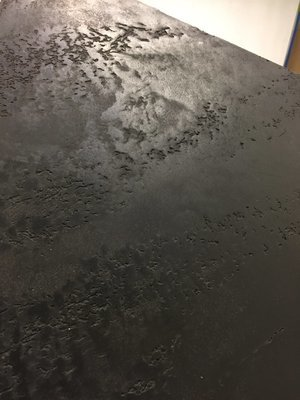 Jet Black Carrara Marmorino   4kg Sample Size