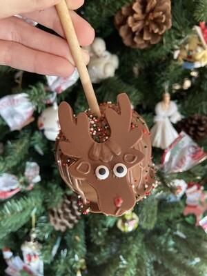 Reindeer Caramel & Chocolate Apple
