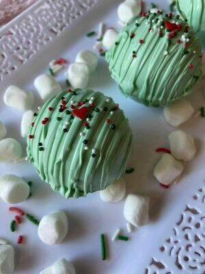 Grinch Hot Chocolate Bomb (Small)