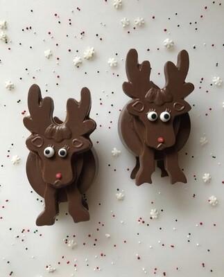 3D Reindeer Oreo