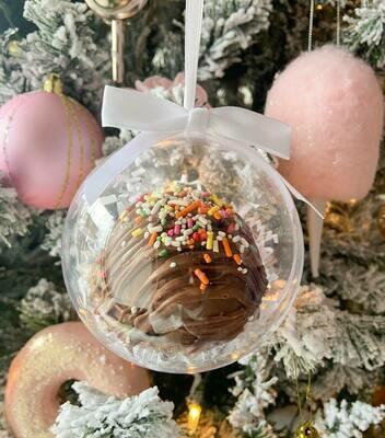 Jumbo Hot Chocolate Bomb Ornament