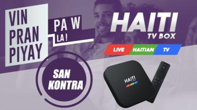 HAITI TV BOX DEAL