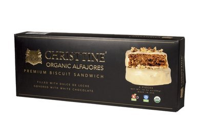 Organic & Kosher White Chocolate Alfajores