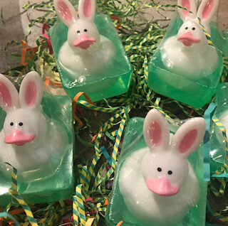 Bunny Soaps low stock