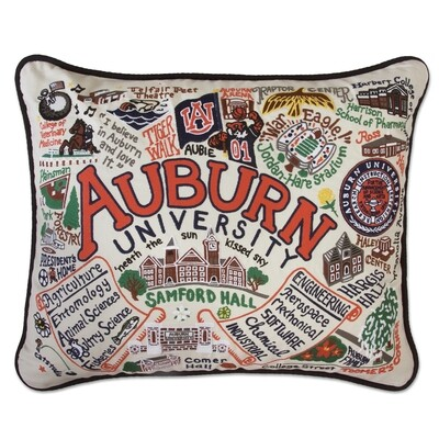Auburn University pillow