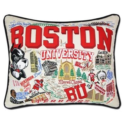 Boston University pillow