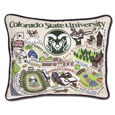 Colorado State pillow