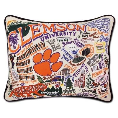 Clemson pillow