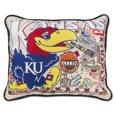 Kansas University pillow