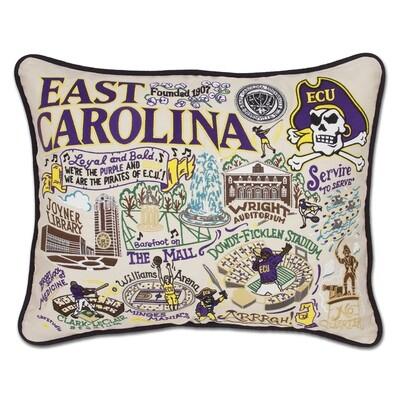 East Carolina pillow