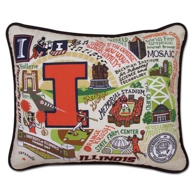 University of Illinois pillow