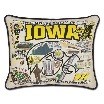 University of Iowa pillow