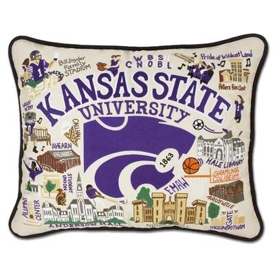 Kansa State University pillow