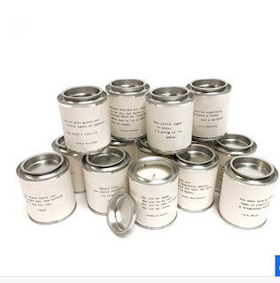 inspirational candles-low stock!!!