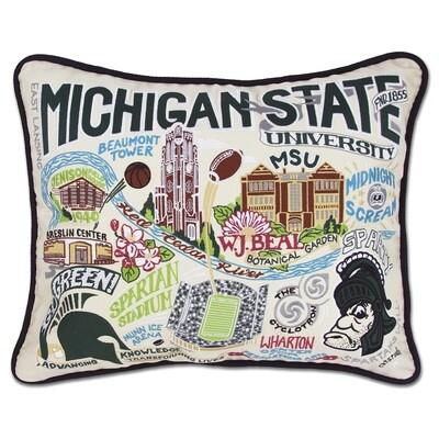 Michigan State University pillow