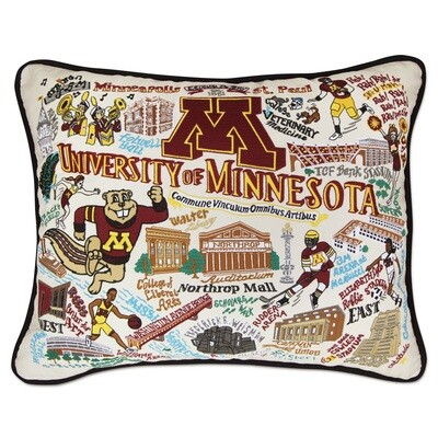 university of Minnesota pillow