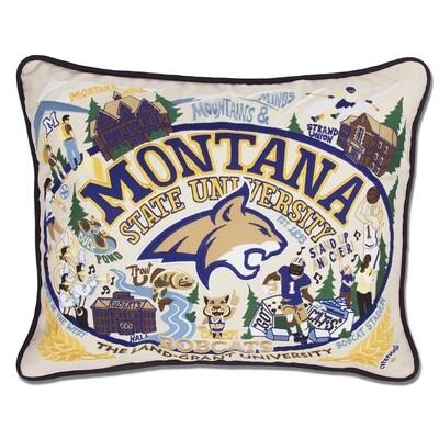 Montana State pillow