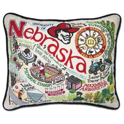 Nebraska university pillow