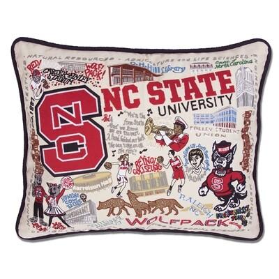North Carolina state pillow
