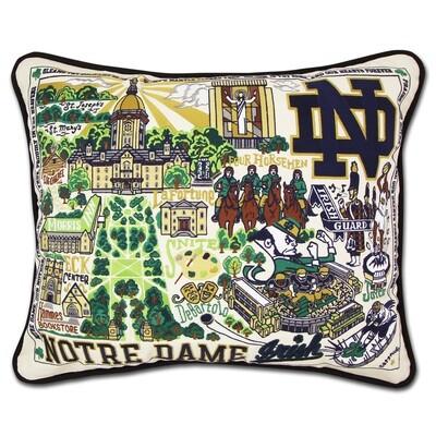 Notre Dame pillow
