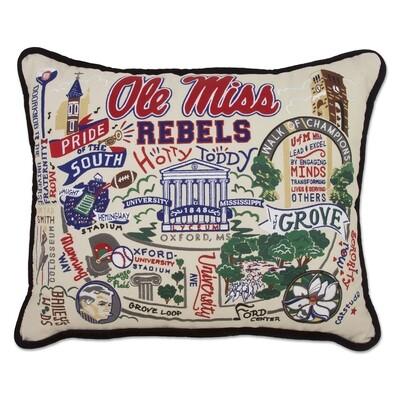 Ole miss pillows