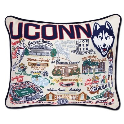 University of Connecticut pillow