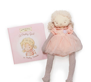 Doll and book set