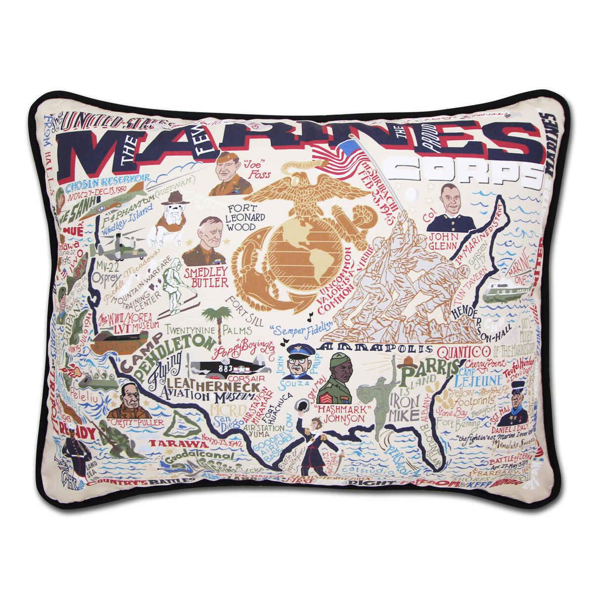 Marines pillow