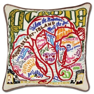 Acadia National Park pillow