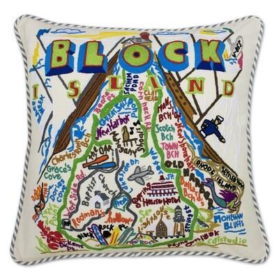 Block Island pillow