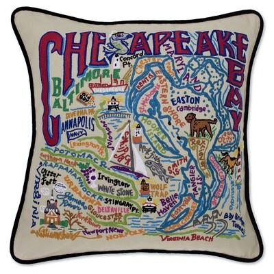 Chesapeake Bay pillow