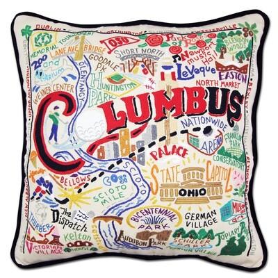 Columbus pillow