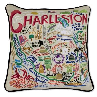 Charleston pillow