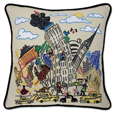 Empire State pillow