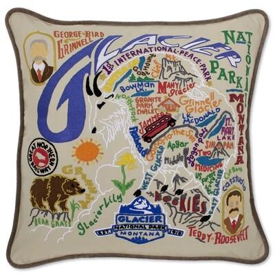 Glacier Park pillow