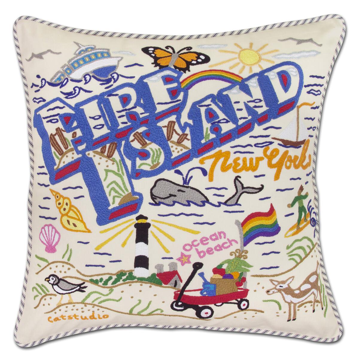 Fire Island pillow