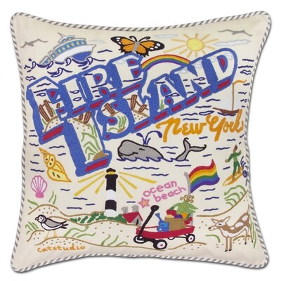 Fire Island pillow