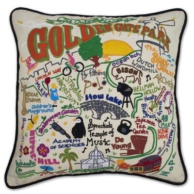 Golden Gate Park pillow