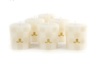 Ivory votives.  Set 0f 6