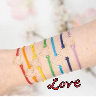 Colorful Heart bracelets
