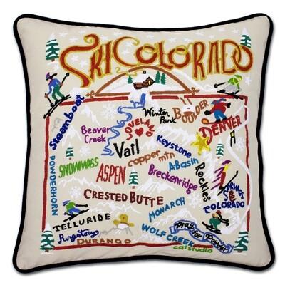 Ski Colorado pillow