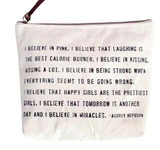 Audrey Hepburn Canvas Bag