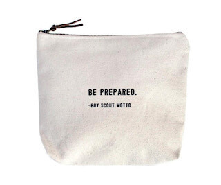 Boy Scout Motto Canvas Bag