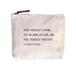 Elizabeth Taylor Canvas Bag