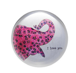"""""""I love you"""" Paperweight"""