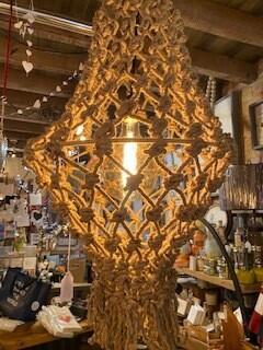 Macrame Dream lamp