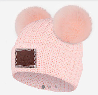 Double pom pink love your melon-sold out