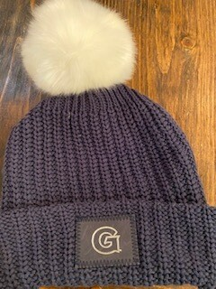 Georgetown pom hat